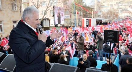 Başbakan Yıldırım'dan, Baykal'a gönderme: