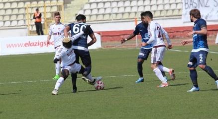 Elazığ'da 6 gollü maçın kazananı ev sahibi