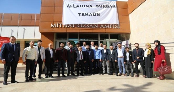 Başkan Çelikcan Yazar Taha Ün'ü gençlerle buluşturdu