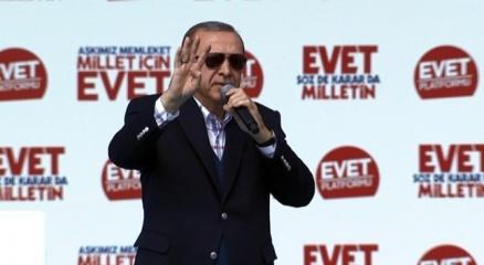 Cumhurbaşkanı Erdoğan: 'Hadi gel, kimi denize döküyorsun görelim'