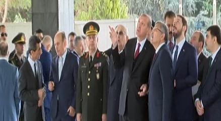 Cumhurbaşkanı Erdoğan, mezarların yenilenmesi için yetkililere talimat verdi