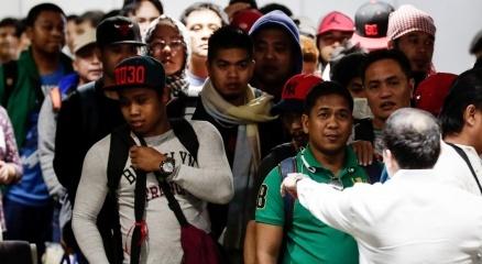 Duterte, Suudi Arabistan'daki 138 Filipinli işçiyi kurtardı