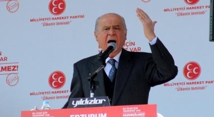 """MHP Genel Başkanı Bahçeli: """"Kesin karar ve hükmü YSK verdi, bu bahsi kapadı"""""""