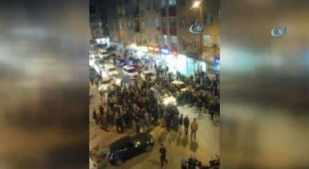 Sevgilisine kızdı, mahalleyi taradı |İstanbul haberleri