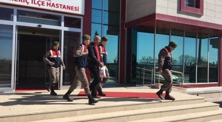 Yunan sınırında PKK'lı terörist yakalandı