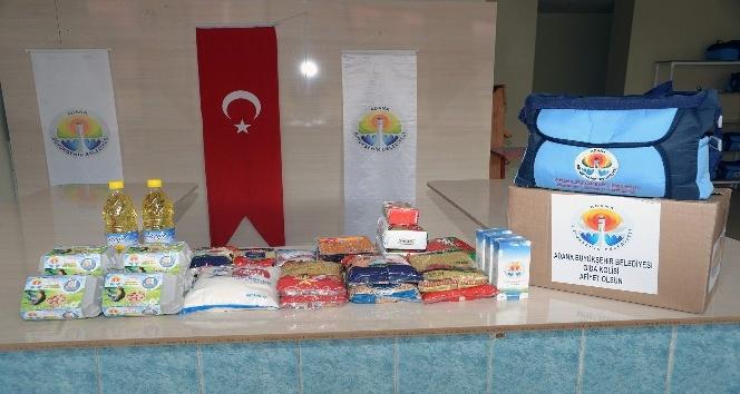 100 bin kişiye iftar, 15 bin aileye gıda kolisi