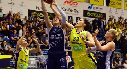 Bilyoner.com Bayanlar Basketbol Ligi Finali - Fenerbahçe: 71 - Yakın Doğu Üniversitesi: 70