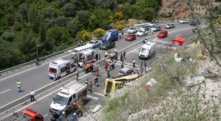 Muğla'daki kazada ölü sayısı 24'e yükseldi