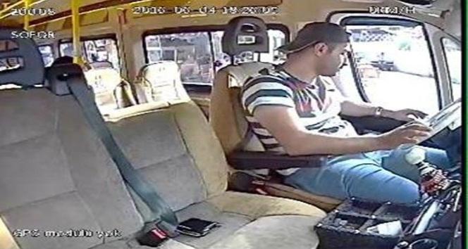 Dolmuş sürücüsünün cüzdanını çaldı tutuklandı
