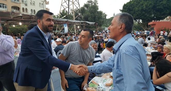 Milletvekili Erdinç, ASKON iftar çadırında vatandaşla buluştu
