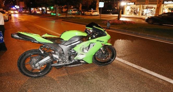 Yaralı motosikletli