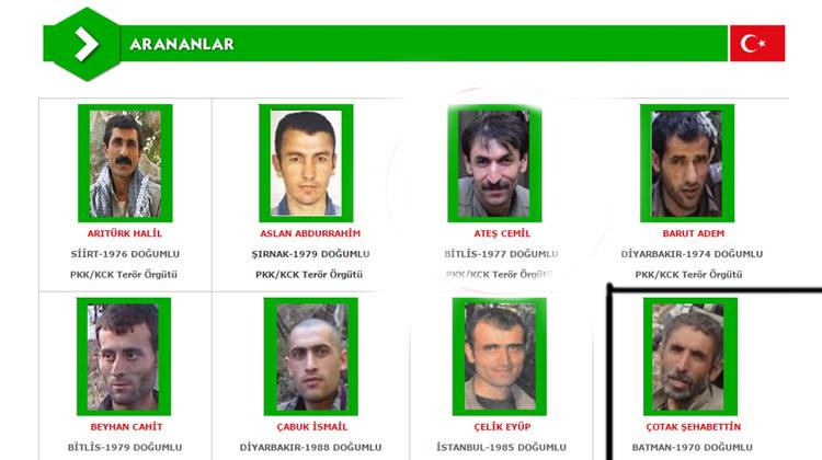 Başına 1 milyon ödül konulan yeşil listedeki terörist öldürüldü