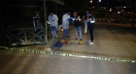 Gençlerin üzerine ateş edildi: 1 ölü, 2 yaralı