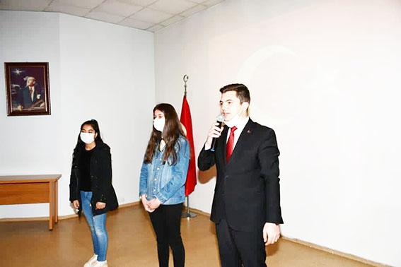 Tufanbeyli'de Mehmet Akif anma töreni yapıldı!