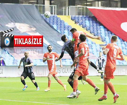 Adanaspor: 1 - Balıkesirspor: 1 (MAÇ ÖZETİ)