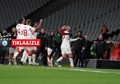 Türkiye: 4 - Hollanda: 2 (Maç sonucu)