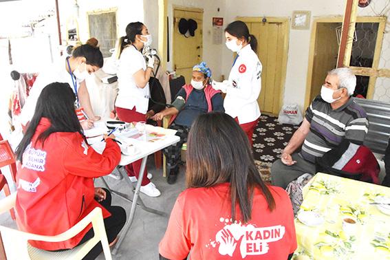 Kadın eli ekipleri ve derman ekipleri çalışmalarına devam ediyor