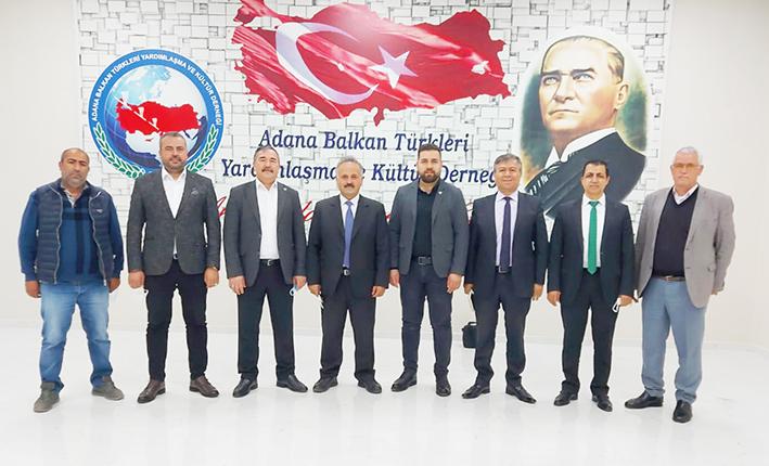 Adana Kardeş Kültür Dernekleri toplantısı yapıldı!