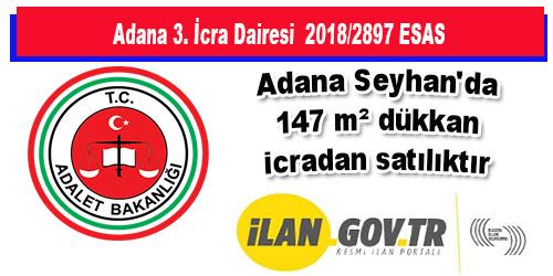 Adana Seyhan'da 147 m² dükkan icradan satılıktır
