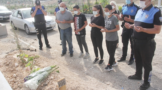 16 gün önce kaybettikleri annelerine polis kavuşturdu