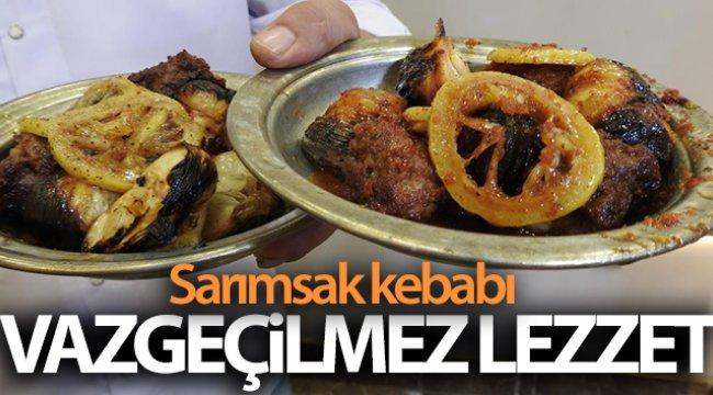 Gaziantep'in vazgeçilmez lezzeti sarımsak kebabı