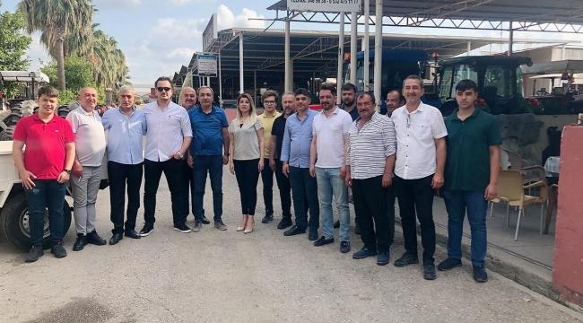 MHP Kadroları Traktörcüleri dinlediler!