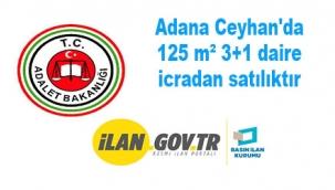 Adana Ceyhan'da 125 m² 3+1 daire icradan satılıktır