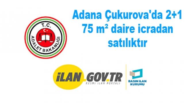 Adana Çukurova'da 2+1 75 m² daire icradan satılıktır