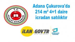 Adana Çukurova'da 214 m² 4+1 daire icradan satılıktır