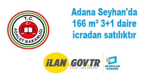 Adana Seyhan'da 166 m² 3+1 daire icradan satılıktır