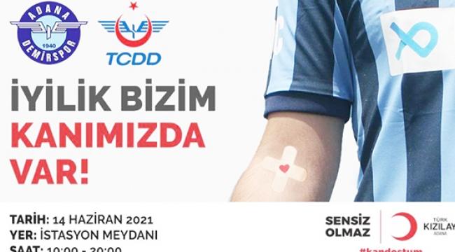 Mavi Lacivertlilerden kan bağışına destek!