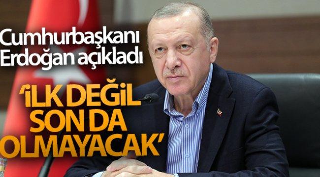 """Cumhurbaşkanı Erdoğan: """"Karadeniz'de açtığımız kuyular ilk değildir elbette son da olmayacaktır"""""""