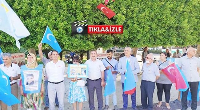 """Doğu Türkistan'daki Soykırıma İnsanlık Adına """"DUR"""" de!"""