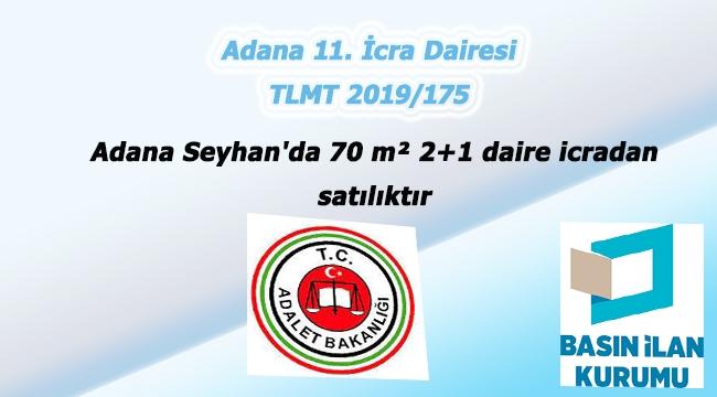 Adana Seyhan'da 70 m² 2+1 daire icradan satılıktır