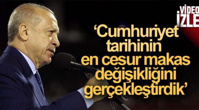 Cumhurbaşkanı Erdoğan'dan Sakarya Zaferi'nin 100.yılında net mesaj