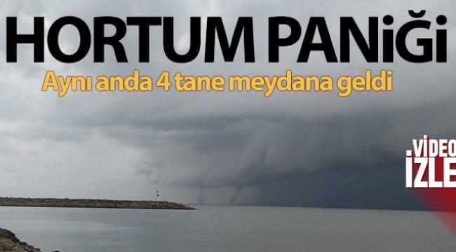 Edirne'de hortum paniği